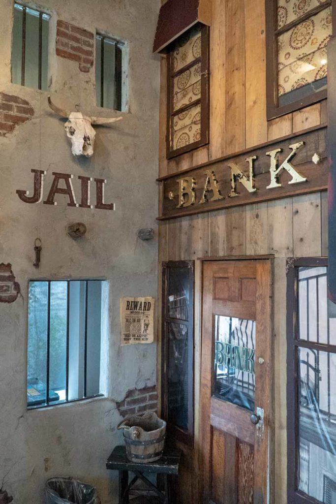 Chestermere Station Dentistry | Old West Bank and Old West Jail